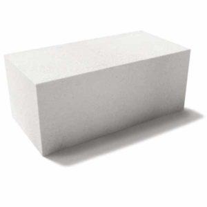 Газобетонный блок ГБЗ-1 D500. Стеновые блоки.