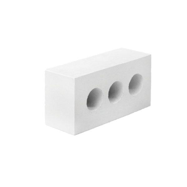 Белый кирпич облицовочный. Полуторный силикатный кирпич.